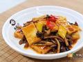 素食推荐:茶树菇焖豆腐