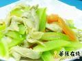 素食推荐:莴笋炒平菇