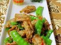 素食推荐:杏鲍菇炒荷兰豆