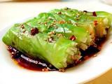 素食推荐:酸辣白玉翡翠卷