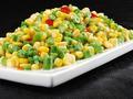 素食推荐:玉米炒豇豆