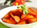 素食养生:香烧胡萝卜