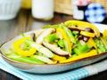 素食养生:鲜菇芦笋小炒