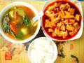 素食推荐:红烧豆腐套饭