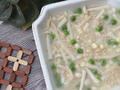 素食养生:鲜菇麦片玉米浓汤