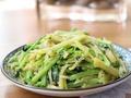 素食推荐:干炒芹菜土豆