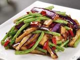 素食养生:茄子豆角