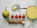素食养生:香梨山药菠萝果昔