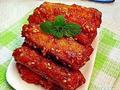 素食养生:糖醋藕条