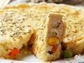 素食养生:低脂杂蔬豆腐派