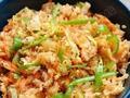 素食养生:泡菜拌饭
