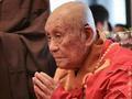五台山举办梦参老和尚103岁寿诞祈福法会