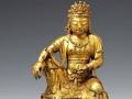 高丽时代金铜观音菩萨坐像