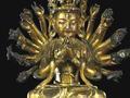 明代青铜铸造多臂观音坐像