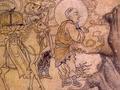 甘肃省敦煌壁画现中国最早玄奘取经图