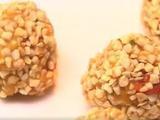 素食养生:南瓜枸杞杏仁球