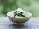 素食养生:姜汁菠菜