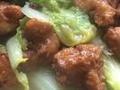 素食养生:白菜豆腐丸子
