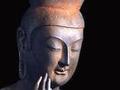 京都广隆寺灵宝殿弥勒菩萨像