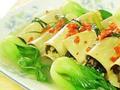 素食推荐:豆皮素菜卷