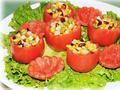 素食推荐:莲花柿子盅