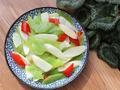 素食养生:山药炒莴笋