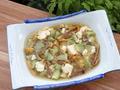 素食养生:姬松茸丝瓜豆腐汤