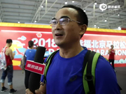 视频-北马参赛者:首次就中签很幸运 目标330