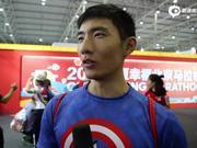 视频-北马参赛者:喜欢不断挑战 在家门口跑马很自豪