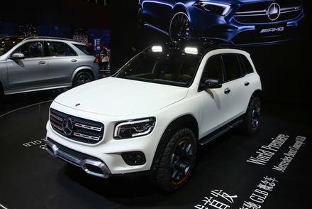 7座紧凑级SUV/今年国产 实拍全新奔驰GLB