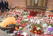罗马悼念希尔斯堡惨案遇难者