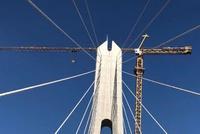 昌赣高铁搞大事啦!世界首座大跨度高铁斜拉桥铺轨