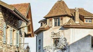 美如画的法国伊瓦尔小镇