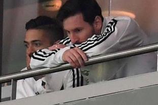 阿根廷惨败西班牙 梅西也无奈