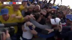 视频-莫里纳利拿下制胜分 欧洲队赢2018莱德杯