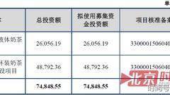 香飘飘三进宫冲奶茶第一股采购数据矛盾遭证监会问询