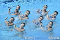 创造历史 中国花游队首夺世锦赛金牌!