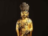 高丽王朝铜制大势至菩萨立像