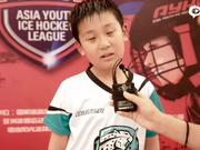 """视频-雪豹小将获""""新浪杯""""最佳后卫:打冰球很开心"""