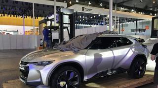 成都车展新车抢先看 雪佛兰FNR-X概念车