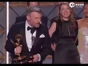 视频:第69届艾美奖 《黑镜》单集San Junipero获最佳电视电影