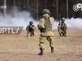 俄罗斯特种部队练习军体拳:枪声伴奏迷之搞笑