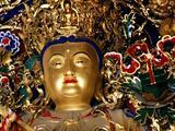 依文殊菩萨真容塑造的文殊菩萨像