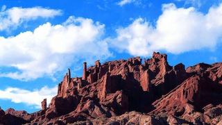 新疆库车,天山神秘大峡谷