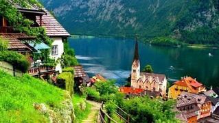 奥地利最古老的小镇——哈尔施塔特镇