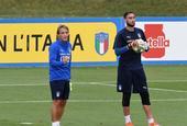 意大利集训日的AC米兰球员