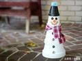 转发起来:下雪了,我们来制作一个可爱萌萌哒小雪人吧!!