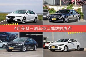美系三厢车型车主综合评分排行榜,君威新能源登顶!