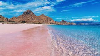 少女心炸裂的360度無死角美的粉紅沙灘