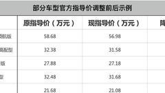 大众进口车全系车型售价下调 最高降1.7万
